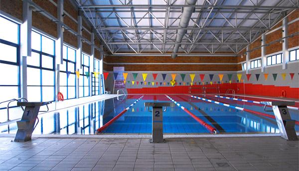 Το κολυμβητήριο στην Πανεπιστημιούπολη Βουτών